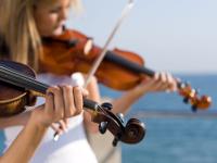 Musik am Meer