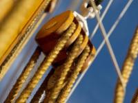 Das Segelschulschiff MIR besucht Travemünde