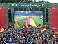 Sparkassen FanKurve - Alle Spiele mit deutscher Beteiligung sowie das Finale