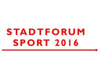 Stadtforum Sport 2016