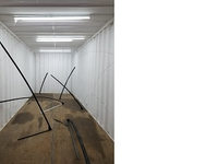 Prima Kunst Container an der Stadtgalerie Kiel