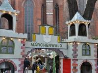 Märchenwald an der Marienkirche