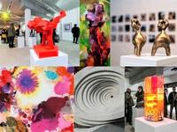 X-mas Art exhibition - Improvisationstanz zu Gemälden Skulpturen und Musik