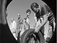 """Ausstellungen: """"Leben auf der Flucht"""" und """"Sooq Aljomaa - Friday Market in Libya"""""""