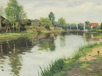 Malerei in Kiel um 1900 unter dem Einfluss des Impressionismus