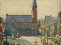 """Sonntagsführung durch die Ausstellung """"Malerei in Kiel um 1900 unter dem Einfluss des Impressionismus"""""""